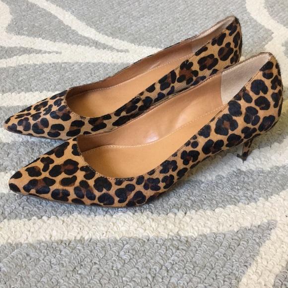 8f07b56fa11b J. Crew Shoes - J. Crew leopard print kitten heels